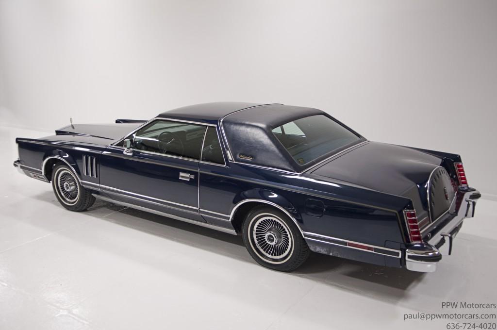 ppwmotorcars 1978 lincoln continental mark v 4095 ppw motorcars llc. Black Bedroom Furniture Sets. Home Design Ideas
