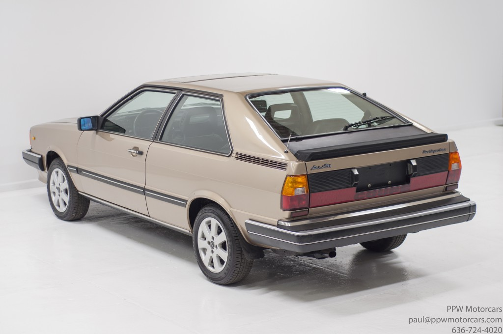 Ppwmotorcars 1982 Audi Coupe 8008 Ppw Motorcars Llc