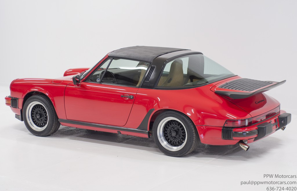 Ppwmotorcars 1985 Porsche 911 Targa Pw 7749 Ppw