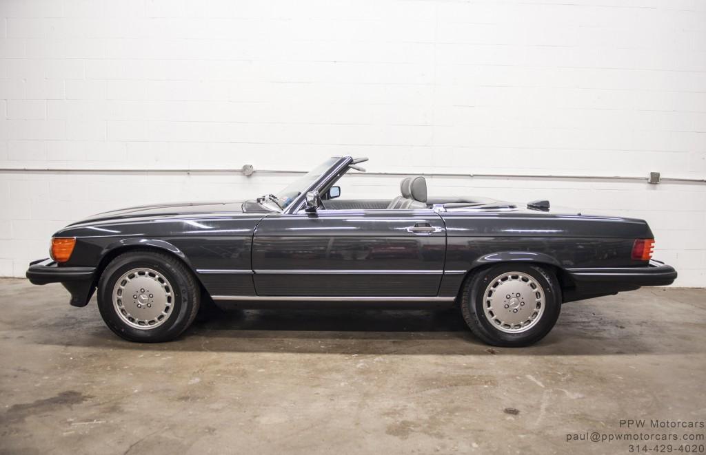 1986 Mercedes Benz 560sl Ppw Motorcars Llc