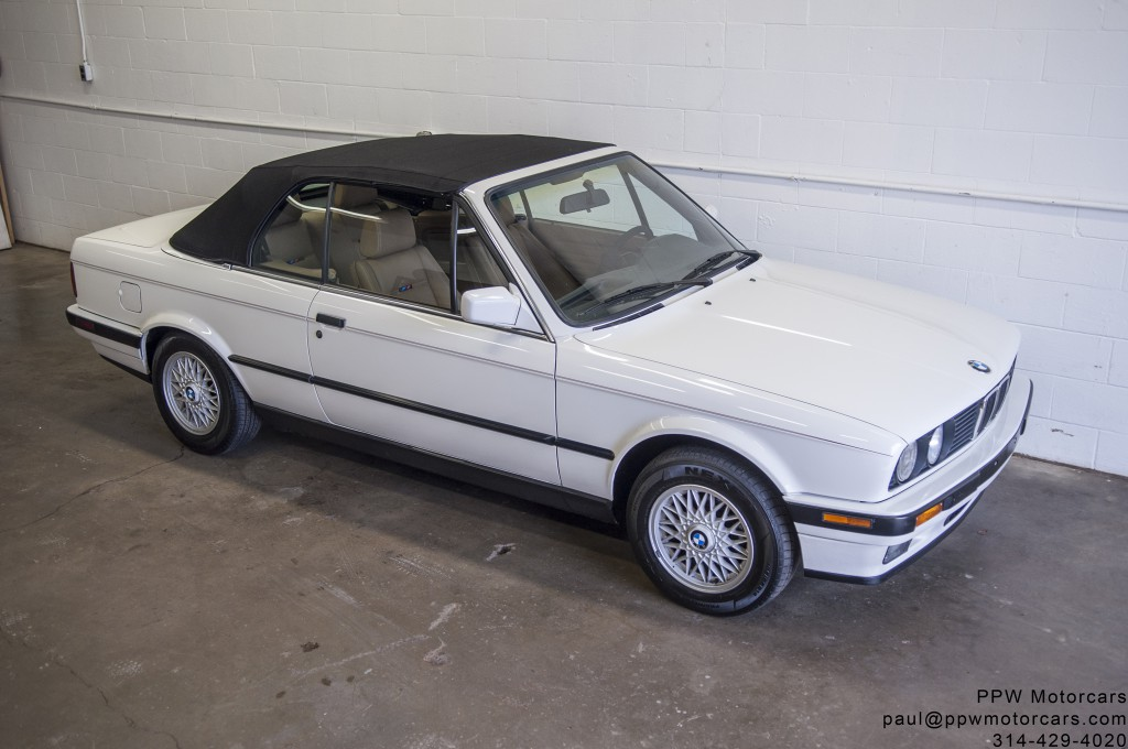 1991 bmw 325i convertible ppw motorcars llc. Black Bedroom Furniture Sets. Home Design Ideas